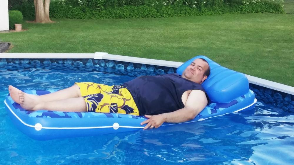 Bill Padulo, Funeral Director & Pool Patron