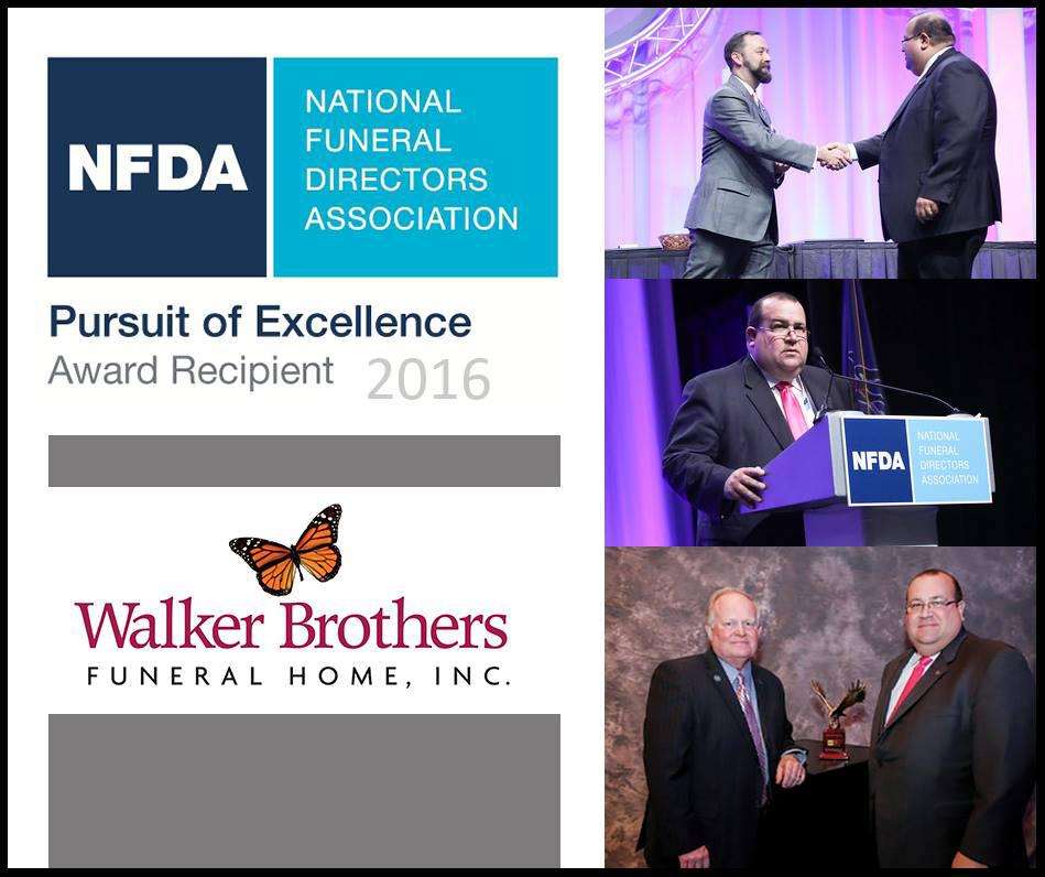 Walker Brothers Funeral Home Receives National Recognition